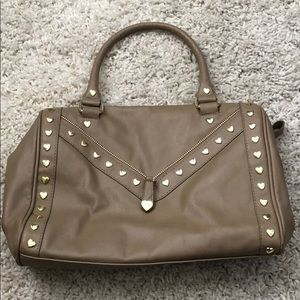 Betsey Johnson taupe purse